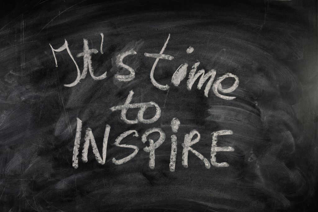Time to inspire